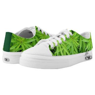 Weed Low-top Sneakers Printed Shoes