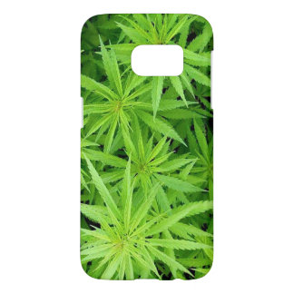 Weed Samsung Galaxy S7 Barely There Case