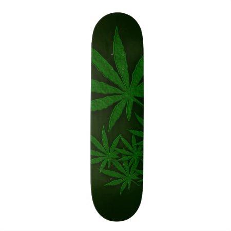 Weed Skateboard Deck