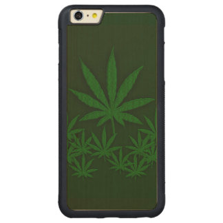 Weed Carved® Maple iPhone 6 Plus Bumper Case