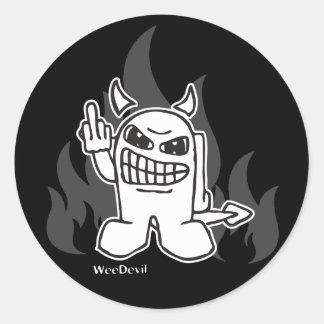 WeeDevil Sticker
