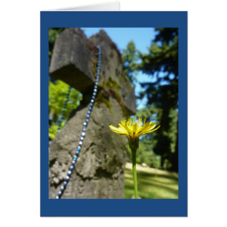 Weeds and Gravestones Card
