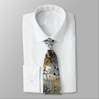 Weeds and Sky Abstract Tie