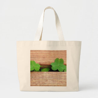 Weeds and Wood Large Tote Bag