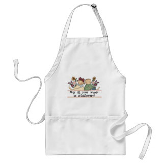 Weeds Be Wildflowers Adult Apron