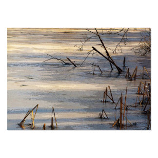 Weeds in Ice ATC Large Business Card