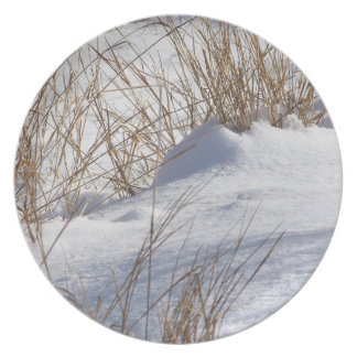 Weeds in Snow Plate