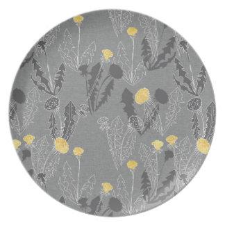 Weeds on Wool Plate