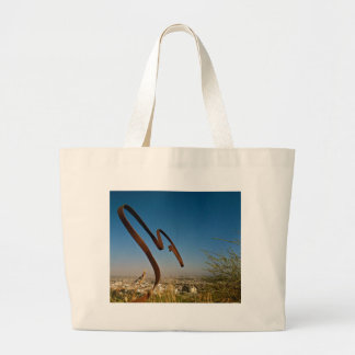 Weeds Over Hollywood 1 Large Tote Bag