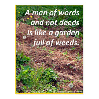 Weeds Postcard
