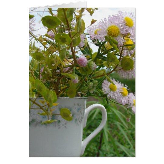 Weedy Bouquet Card