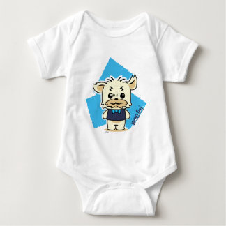 WEEFEI™ AQUAMARINE BABY BODYSUIT