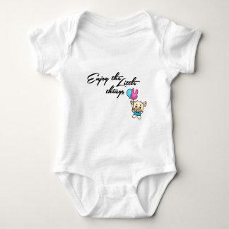WEEFEI™ ENJOY THE LITTLE THINGS BABY BODYSUIT