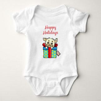 WEEFEI™ HAPPY HOLIDAYS BABY BODYSUIT