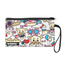 WEEFEI™ PATTERN 1 WRISTLET PURSE