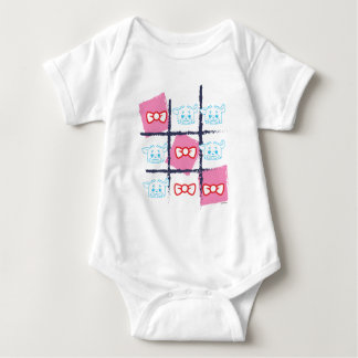 WEEFEI™ TIC TAC TOE BABY BODYSUIT