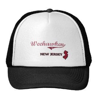 Weehawken New Jersey City Classic Trucker Hats