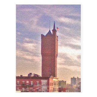 Weehawken Water Tower Postcard