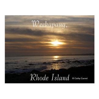 Weekapaug Rhode Island Post Cards