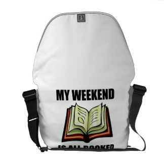 Weekend All Booked Courier Bag