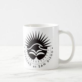 Weekend At San Diego - Black Coffee Mug