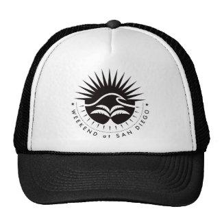 Weekend At San Diego - Black Trucker Hat