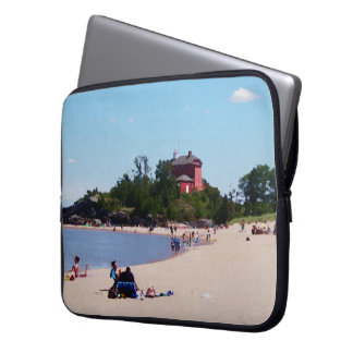 Weekend At The Beach Laptop Sleeve