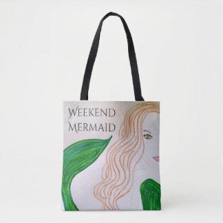 Mermaid Beach Bags & Handbags | Zazzle