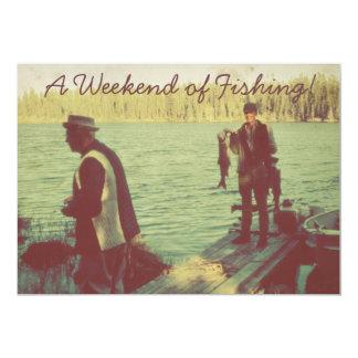 Weekend of Fishing Card