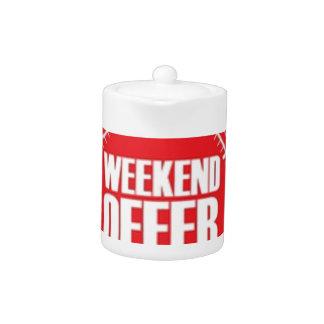 weekend offer teapot