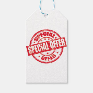 weekend special offer limited time offer only gift tags