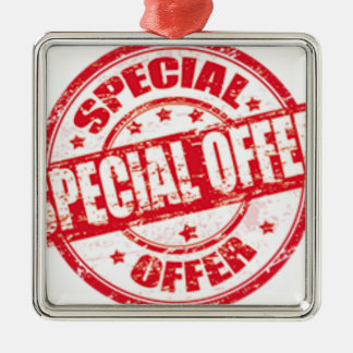 weekend special offer limited time offer only metal ornament