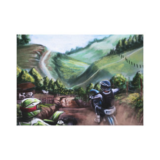 weekend trail canvas print