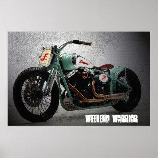 Weekend Warrior 36 x 24 Poster