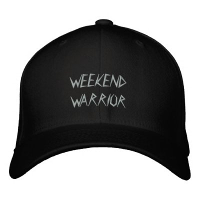 Weekend Warrior Embroidered Cap Embroidered Hat