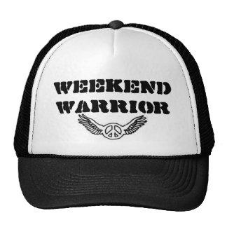 weekend warrior trucker hat