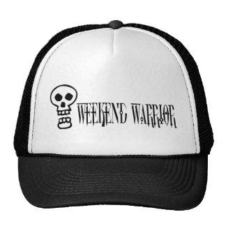 Weekend Warrior Skull Mesh Hat