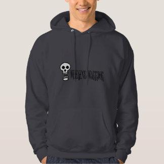 Weekend Warrior Skull Hoodie
