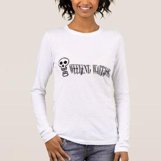 Weekend Warrior Skull Long Sleeve T-Shirt