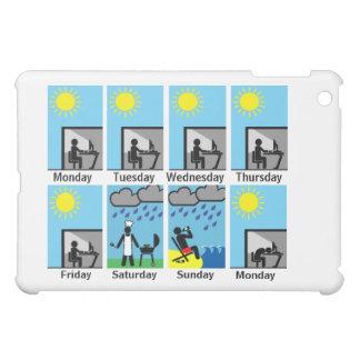 Weekend weather always sucks iPad mini covers