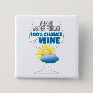 Weekend Weather Forecast Sunny 100% Chance of Wine Button