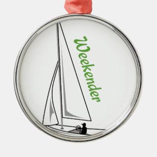 Weekender Metal Ornament