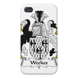 Weekes Family Crest Cover For iPhone 4