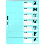 Weekly Dinner/Menu Planner Dry Erase Board