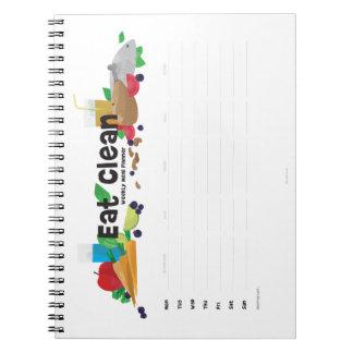 Weekly Food Planner Notebook