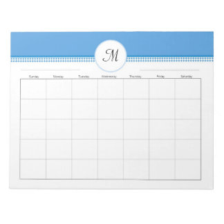 Weekly Organizer for Binders with  40 Pages Note Pads