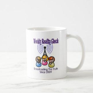 Weekly Reality Check Coffee Mugs