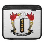 Weeks Family Crest Sleeve For iPads