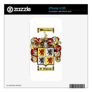 Weems (scotland) skins for iPhone 4