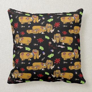 Weener Zombie Throw Pillow